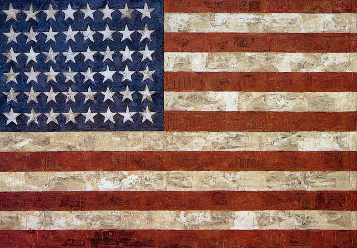 Jasper-Johns_Flag_galleryIntell